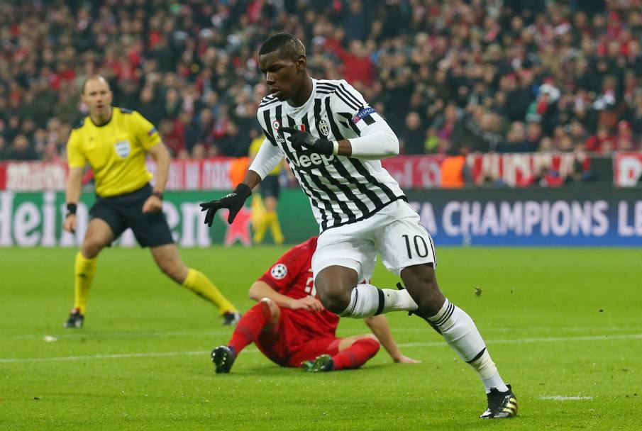 Pogba in azione. Getty