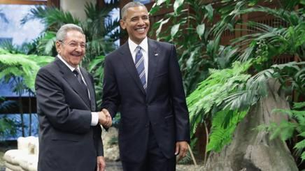 Raul Castro e Barack Obama. Getty