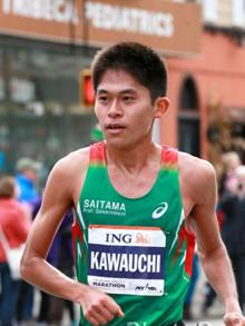 Yuki Kawauchi a New York
