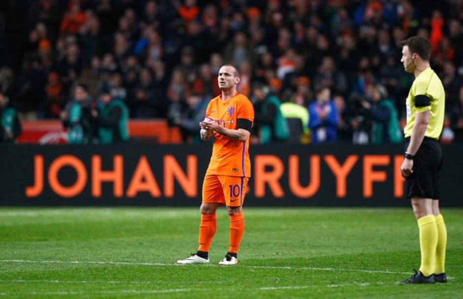 E quello di Wesley Sneijder. Getty