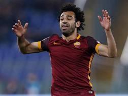 Mohamed Salah, 23 anni, attaccante della Roma. Ansa