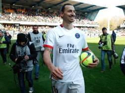 Zlatan Ibrahimovic, 34 anni. Ap
