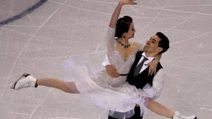 Anna Cappellini e Luca Lanotte. Afp