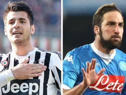 Alvaro Morata, 23 anni, e Gonzalo Higuain, 28.