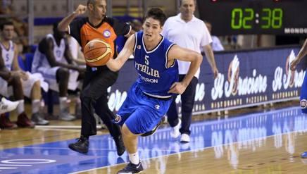 Ryan Arcidiacono, 22 anni, in una delle presenze con l'Italia. Ciam/Cast