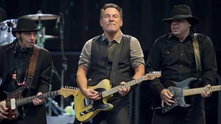 Bruce Springsteen, 66 anni. Epa