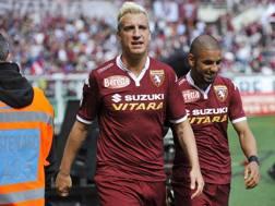 Maxi Lopez  e Bruno Peres. Lapresse