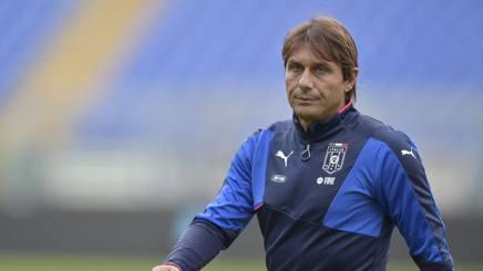 Il c.t. azzurro Antonio Conte. LaPresse