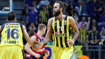 Gigi Datome, top player del Fenerbahce. Getty Images