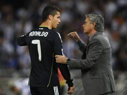 Cristiano Ronaldo, 31 anni, e Jos� Mourinho, 53. Reuters