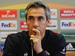 Paulo Sousa, 45 anni, allenatore portoghese, sulla panchina della Fiorentina dall'estate 2015. Ansa