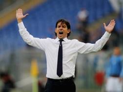 Simone Inzaghi (40 anni), dallo scorso 3 aprile sulla panchina della Lazio