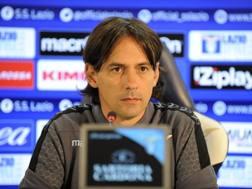 Simone Inzaghi, 40 anni, allenatore della Lazio. LaPresse