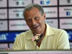 Maurizio Zamparini, 74 anni, presidente del Palermo. Getty Images