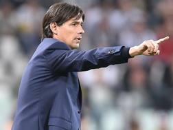 Simone Inzaghi, 40 anni, allenatore della Lazio. Ansa