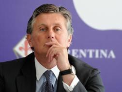 Daniele Prad�, 49 anni, direttore sportivo della Fiorentina. Ansa