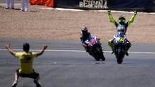 Valentino Rossi, 37 anni, 9 titoli mondiali. Afp