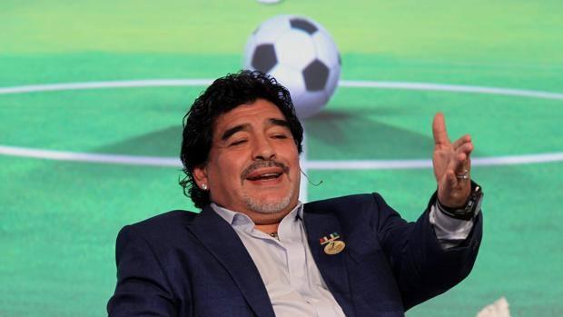 Diego Armando Maradona. Epa