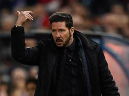 Diego Simeone, tecnico dell'Atletico Madrid. Getty