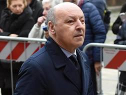 Beppe Marotta, a.d. della Juve. Ansa