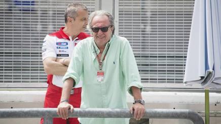 Carlo Pernat, manager di Iannone, ed ex di Rossi. Getty