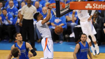 Russell Westbrook, 27 anni. Reuters