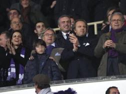 I Della Valle e Sandro Mencucci allo stadio
