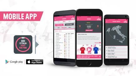 La nuova app del Giro d'Italia