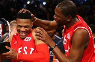 Kevin Durant e Russel l Westbrook.