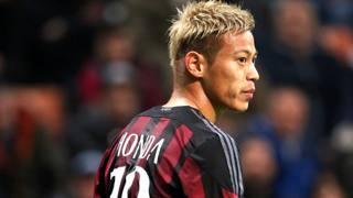 Keisuke Honda, 29 anni. Forte