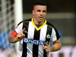 Antonio Di Natale, 38 anni, capitano Udinese. Getty Images