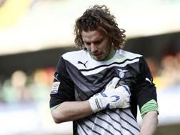 Federico Marchetti, 33 anni, portiere della Lazio dal 2011. LaPresse