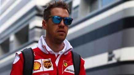Sebastian Vettel, seconda stagione alla Ferrari. LaPresse