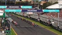 La griglia di partenza del GP di Australia. LaPresse