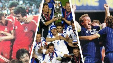 Il Nottigham Forest del '78, la Grecia di Euro 2004 e il Verona tricolore nel 1985