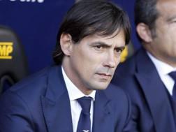 Simone Inzaghi, subentrato a Stefano Pioli il 4 aprile. LaPresse