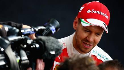 Sebastian Vettel, seconda stagione alla Ferrari. Getty