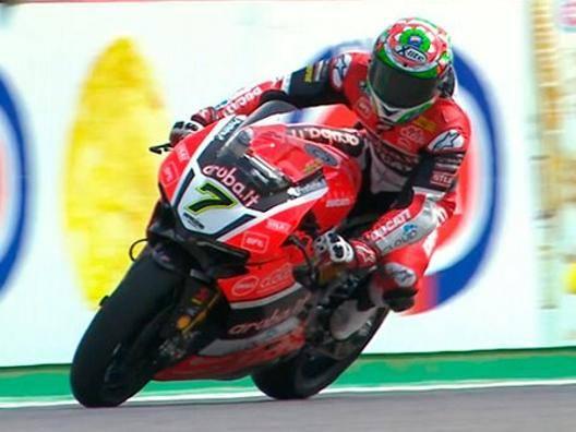 Chaz Davies sulla Ducati