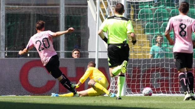 Il gol di Franco  Vazquez. Ansa