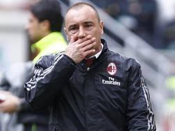 Cristian Brocchi, 40 anni, allenatore del Milan. LaPresse