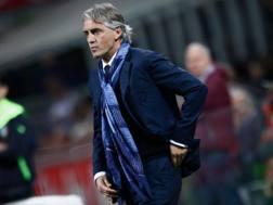 Roberto Mancini, 51 anni, tecnico dell'Inter. LaPresse