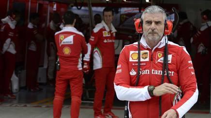 Maurizio Arrivabene, team principal della Ferrari. Colombo
