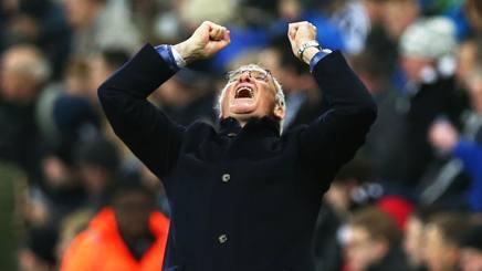 Claudio Ranieri, prima stagione al Leicester. Getty