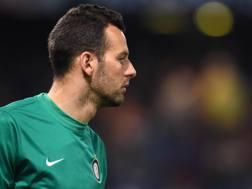 Samir Handanovic, 31 anni, portiere sloveno dell'Inter. Getty Images