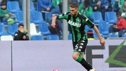Domenico Berardi, attaccante del Sassuolo. LaPresse
