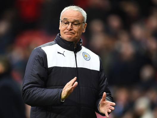 Claudio Ranieri, manager del Leicester a un passo dal titolo di Premier. Getty