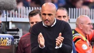 Luciano Spalletti, 57 anni, allenatore della Roma. Afp