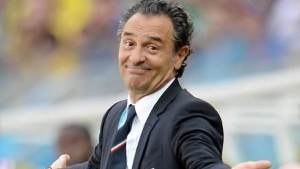 Cesare Prandelli, 58 anni, tecnico della Nazionale. Ansa