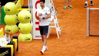 Novak Djokovic, vincitore uscente e n�1 al mondo. LaPresse