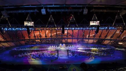 La cerimonia  di Londra 2012 LUCA PARISSE